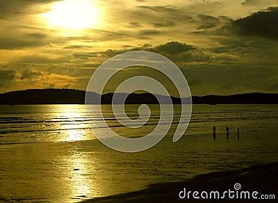 Mystischer Sonnenuntergang I