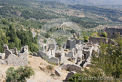 Mystras greece destination