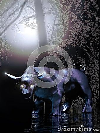 Mythic bull