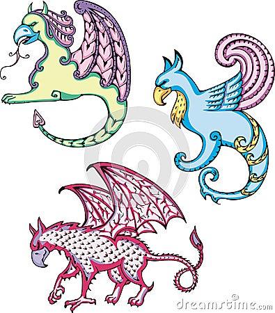Mythic griffins