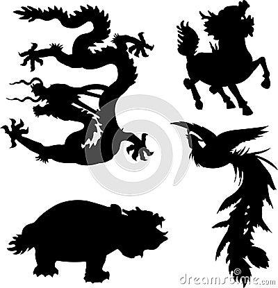 Mythical animal