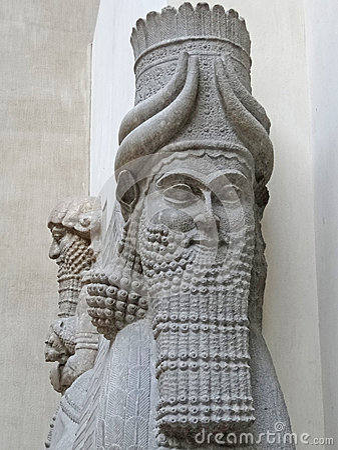 Mythical beast of Assyria,