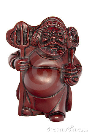 Mythical Chinese Warrior God