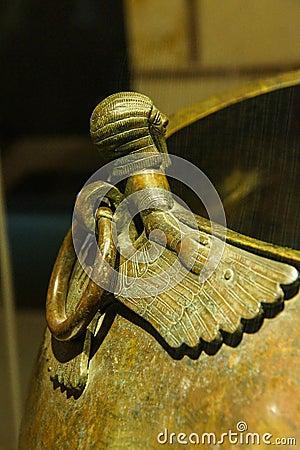 Mythical Winged Figures Stock Photo - Image: 45999957