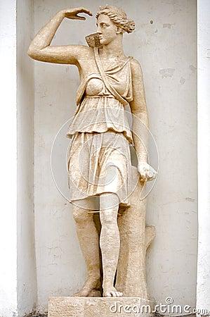 Mythologie van aphrodite van het beeldhouwwerk de oude griekse stock fotografie afbeelding - Oude griekse decoratie ...
