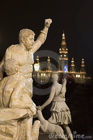 Mythology in night vienna