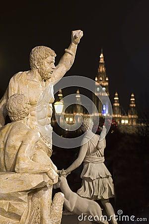 Mythology in night vienna
