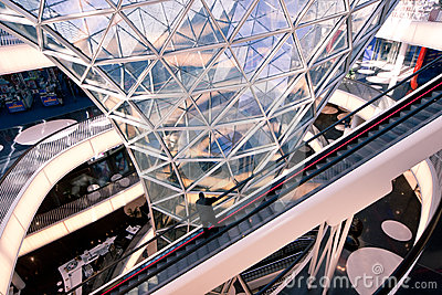 MyZeil Galleries Editorial Image