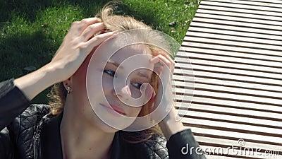 Mädchen Dunkle Haare junge russische Dieter Franz: