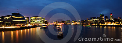 νύχτα του Λονδίνου πόλεω&n