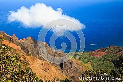 Na Pali Coast Scene