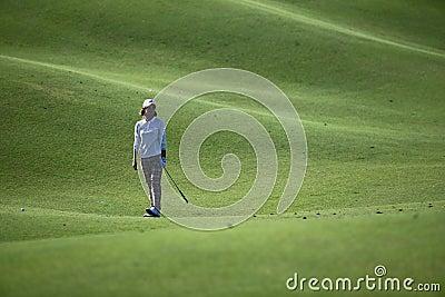 Na Yeon Choi in Taiwan LPGA Championship Editorial Photo