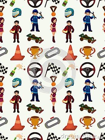 Naadloos f1 patroon