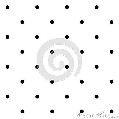 ... : Naadloos geometrisch patroon met stippen op een witte achtergrond