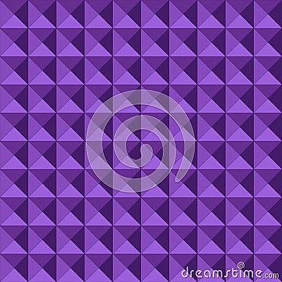 Naadloos geometrisch in reliëf gemaakt patroon