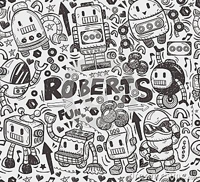 Naadloos robotpatroon