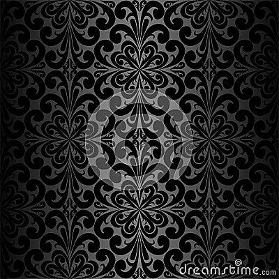 Meer gelijksoortige voorraadbeelden van ` Naadloos sier zwart Behang `