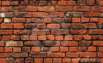 Naadloze achtergrond: bakstenen muur