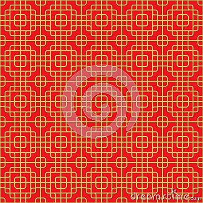Naadloze chinese venstertracery om patroon van de hoek het vierkante dwarslijn vector - Sofa van de hoek uitstekende ...