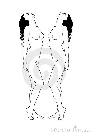 Naakte vrouwen
