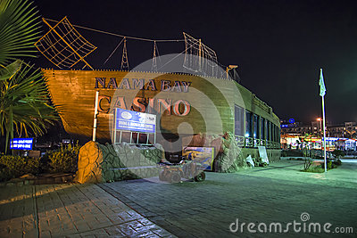 Naama bay casino Editorial Photo