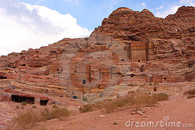 Nabatean Petra, Jordan