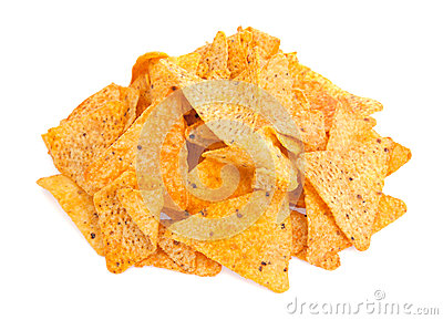 Nacho Cheese Tortilla Corn Chips