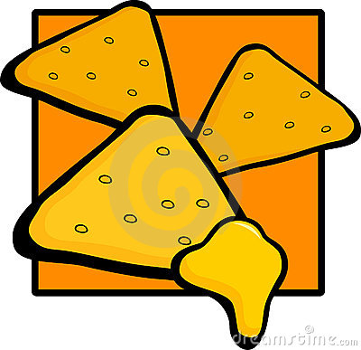 Nachos with cheese