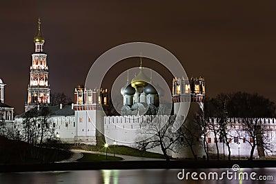 Nacht Moskau.