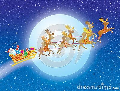 Erwachsene Nacht vor Weihnachten