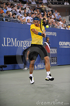 Nadal Rafael at US Open 2009 (21) Editorial Stock Photo