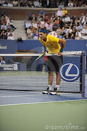 Nadal Rafael at US Open 2009 (25) Editorial Stock Photo