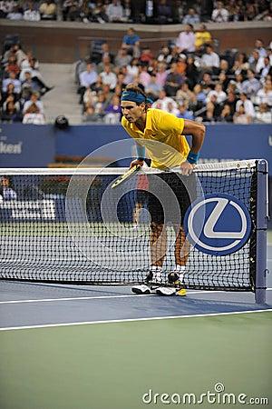 Nadal Rafael at US Open 2009 (25) Editorial Stock Photo