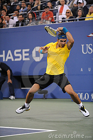 Nadal Rafael at US Open 2009 (76) Editorial Stock Image