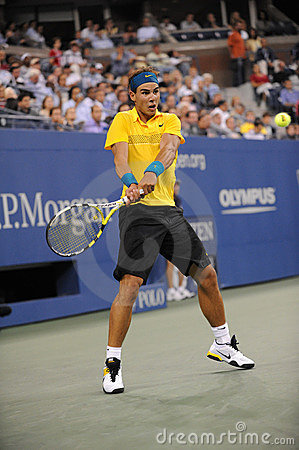 Nadal Rafael at US Open 2009 (8) Editorial Photography