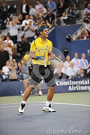 Nadal Rafael at US Open 2009 (84) Editorial Stock Image