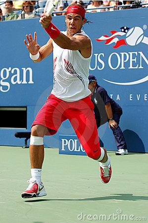 Nadal US Open 2008 (09) Editorial Stock Image