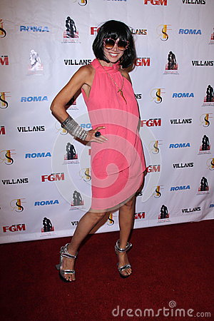 Nadeea At The FGM Swimsuit Issue Launch Hosted By Roma Swimwear, The Colony, Hollywood, CA 05-26-12 Stock Image - Image: 25180691
