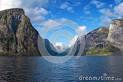 Naeroyfjord in Norway (UNESCO World Heritage)