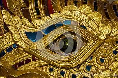 Naga Eye close up