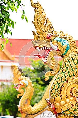 naga head statue