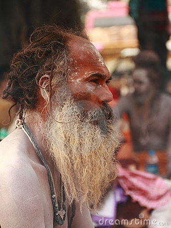 NAGA SADHU,HOLY MEN OF INDIA Editorial Photo