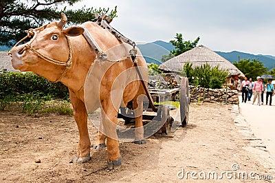 Nagan folk village South Korea