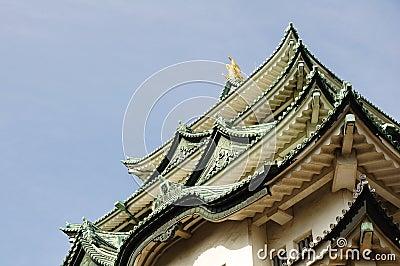 Nagoya Castle roofs