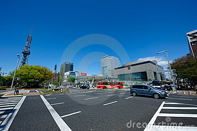 Nagoya City Japan Editorial Stock Image