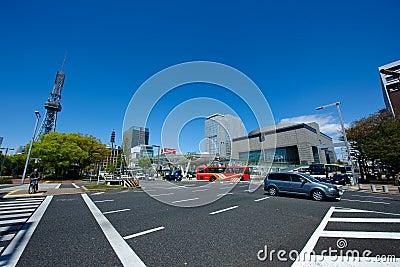 Nagoya City Japan Editorial Stock Image