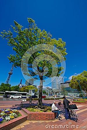 Nagoya Sakae Public Area Editorial Photography