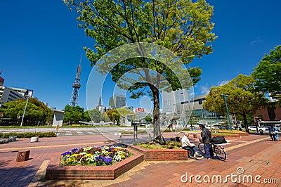 Nagoya Sakae Public Area Editorial Image