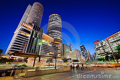 Nagoya Station Japan Editorial Stock Image