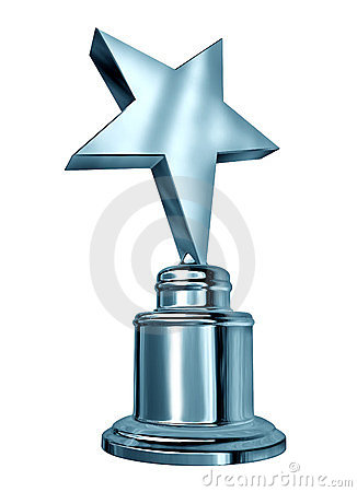 Nagrody srebra gwiazda